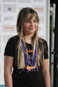 Medaillengewinnerin Manjana Morawetz