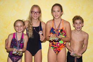 Bild v. links: Hanna Mansmann, Jorina Birnbaum, Johanna Berger, Fabian Eberl
